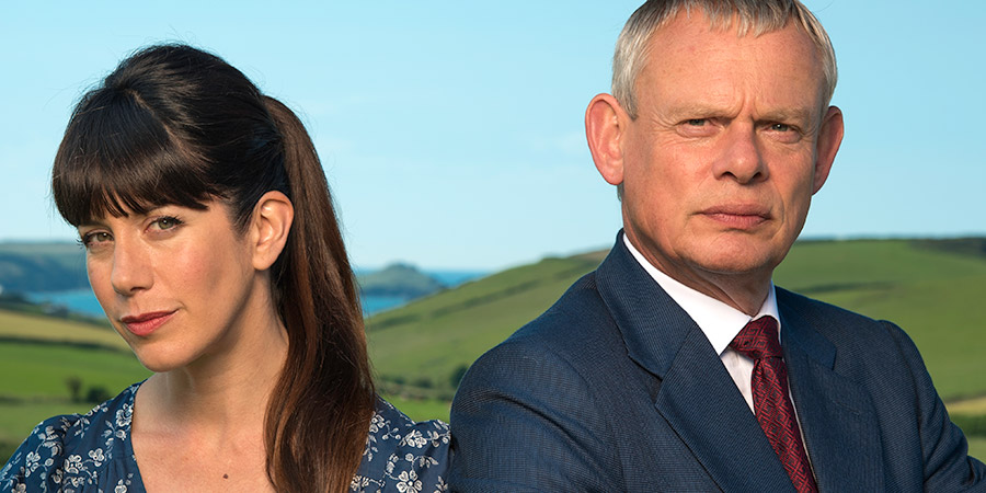 Doc Martin Image Shows From L To R Louisa Glasson Caroline Catz