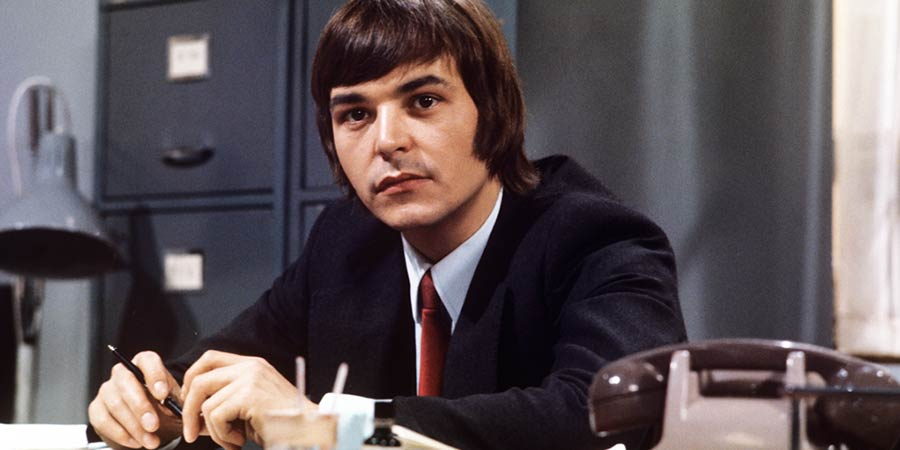 Doctor At Large. Michael Upton (Barry Evans). Copyright: London Weekend Television.
