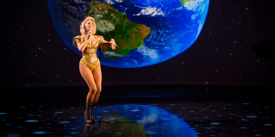 The Entire Universe. Hannah Waddingham. Copyright: BBC / Guy Levy.