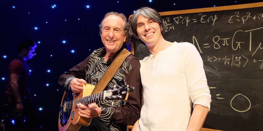 Image shows from L to R: Eric Idle, Brian Cox.