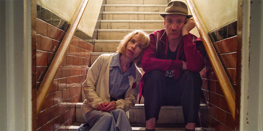 Eternal Beauty. Image shows from L to R: Jane (Sally Hawkins), Mike (David Thewlis).
