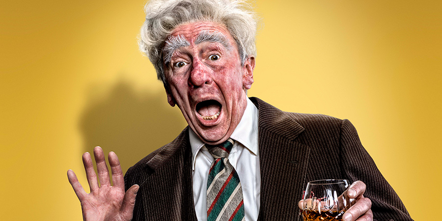 Rowley Birkin. Paul Whitehouse. Copyright: Crook Productions.