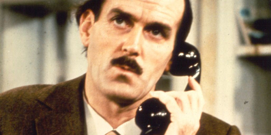 Fawlty Towers. Basil Fawlty (John Cleese). Copyright: BBC.