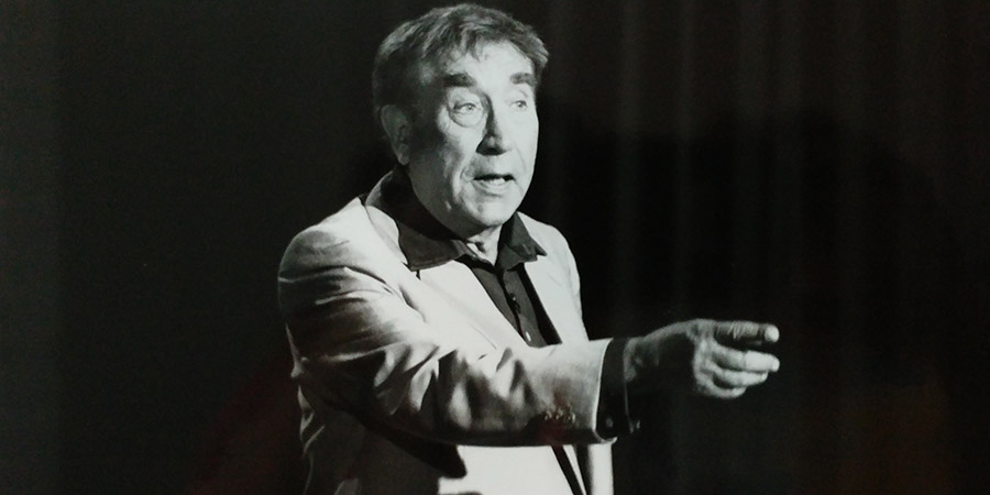 Frankie Howerd On Campus. Frankie Howerd. Copyright: London Weekend Television.