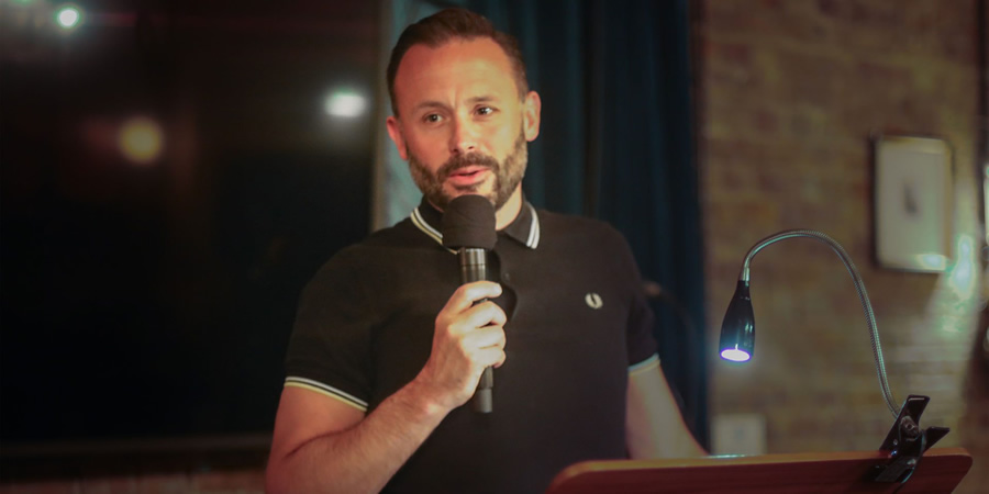 Geoff Norcott's Withdrawal Disagreement. Geoff Norcott. Copyright: Pier Productions.