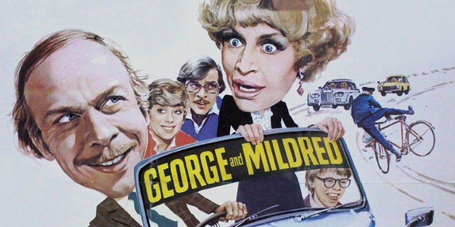 George And Mildred poster art.