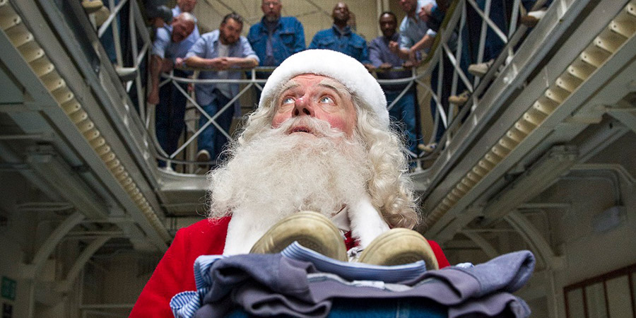Get Santa. Santa Claus (Jim Broadbent). Copyright: Scott Free Productions.