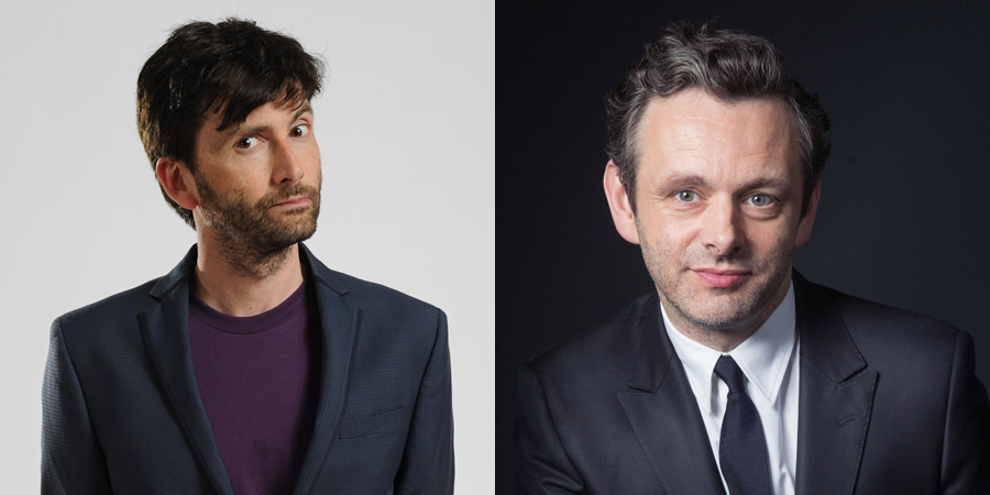 Credit: Guardian/unknown.. Image shows from L to R: Michael Sheen, David Tennant.