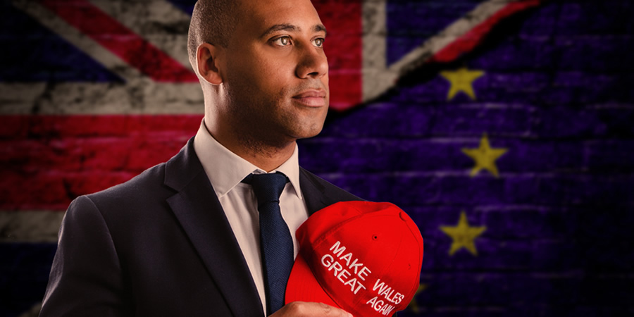 The Great Welsh Brexit Road Trip. Martin George (Leroy Brito). Copyright: Zipline Creative.