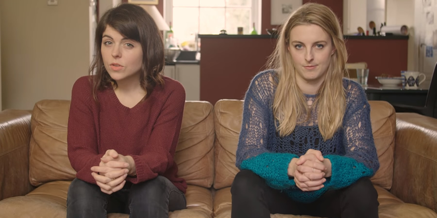 Habits. Image shows from L to R: Roxy (Roxy Dunn), Alys (Alys Metcalf).