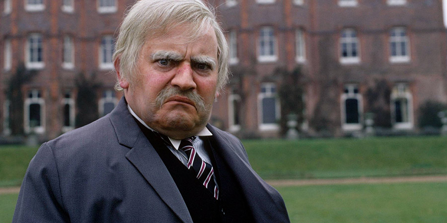 Hark At Barker. Lord Rustless (Ronnie Barker). Copyright: London Weekend Television.