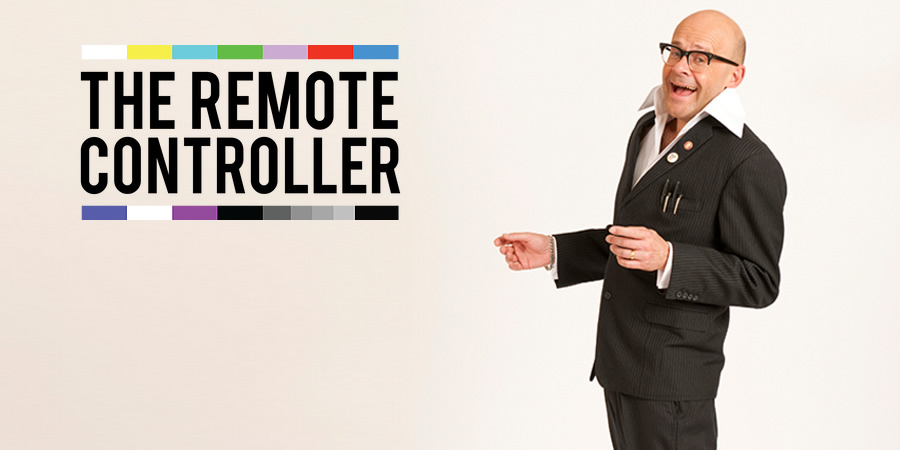 The Remote Controller. Harry Hill. Copyright: Nit TV.