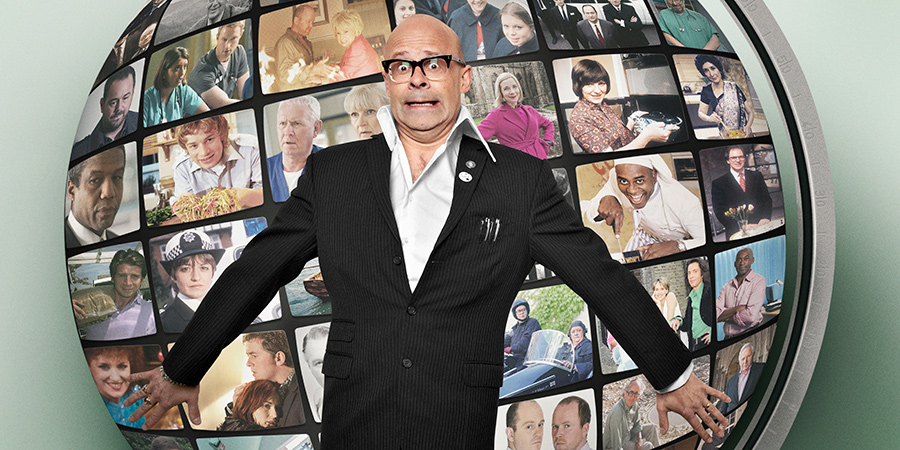 Harry Hill's World Of TV. Harry Hill. Copyright: Nit TV.