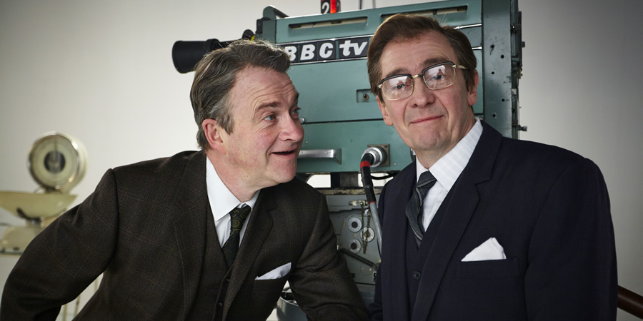 Harry And Paul's Story Of The 2s. Image shows from L to R: Harry Enfield, Paul Whitehouse. Copyright: Balloon Pictures.