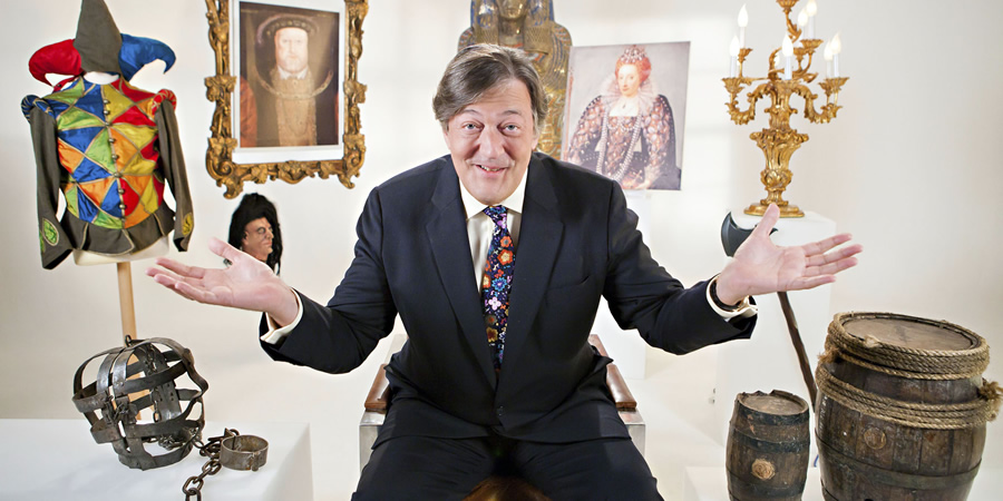 Horrible Histories With Stephen Fry. Stephen Fry.