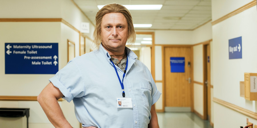 Hospital People. Ian D Montfort (Tom Binns). Copyright: Roughcut Television.