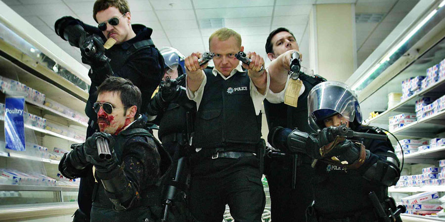 Hot Fuzz. Copyright: Working Title Films.
