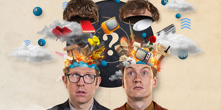 Hypothetical. Image shows from L to R: Josh Widdicombe, James Acaster. Copyright: Hat Trick Productions.