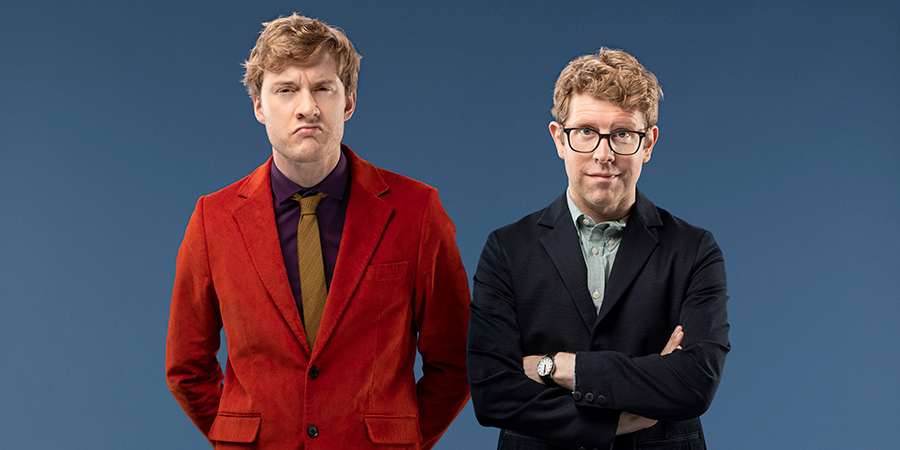 Hypothetical. Image shows from L to R: James Acaster, Josh Widdicombe. Copyright: Hat Trick Productions.