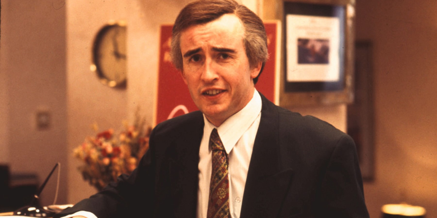 I'm Alan Partridge. Alan Partridge (Steve Coogan). Copyright: Talkback Productions.