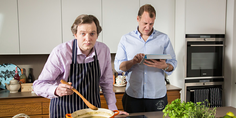 In And Out Of The Kitchen Bbc4 Sitcom British Comedy Guide