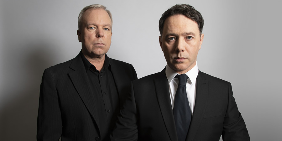 Inside No. 9. Image shows from L to R: Steve Pemberton, Reece Shearsmith. Copyright: BBC.