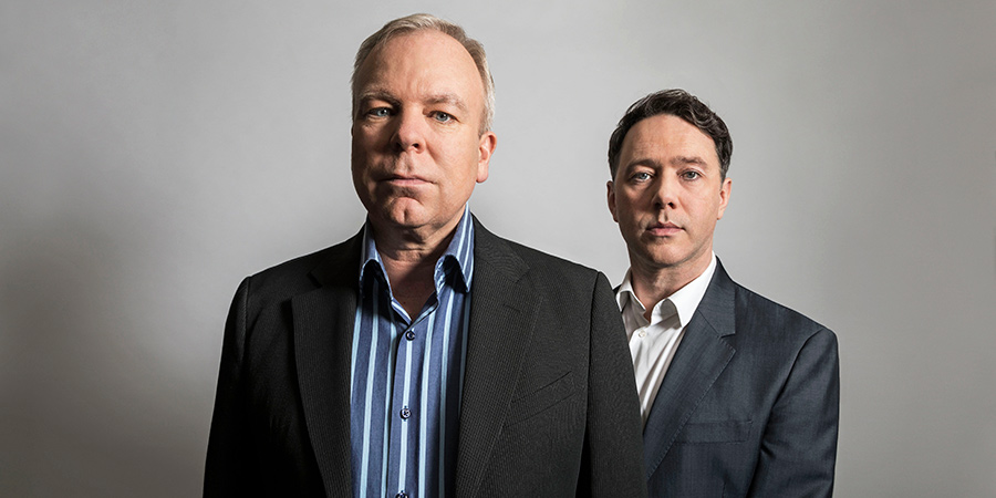 Inside No. 9. Image shows from L to R: Steve Pemberton, Reece Shearsmith.