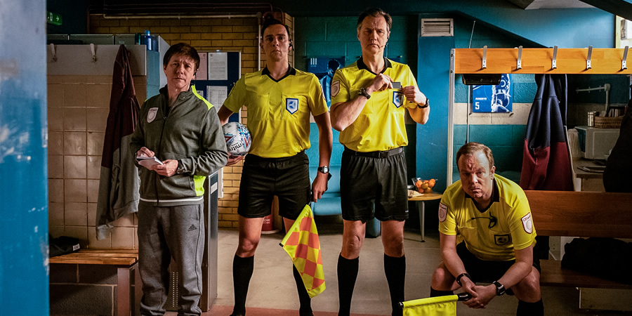 Inside No. 9 Series 5, Episode 1 - The Referee's a W***er - British Comedy Guide