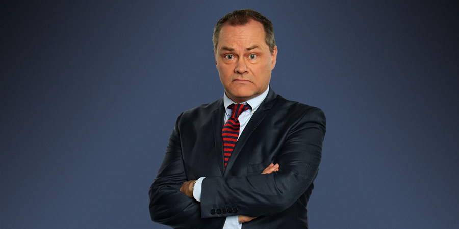 Jack Dee's HelpDesk. Jack Dee. Copyright: Open Mike Productions.