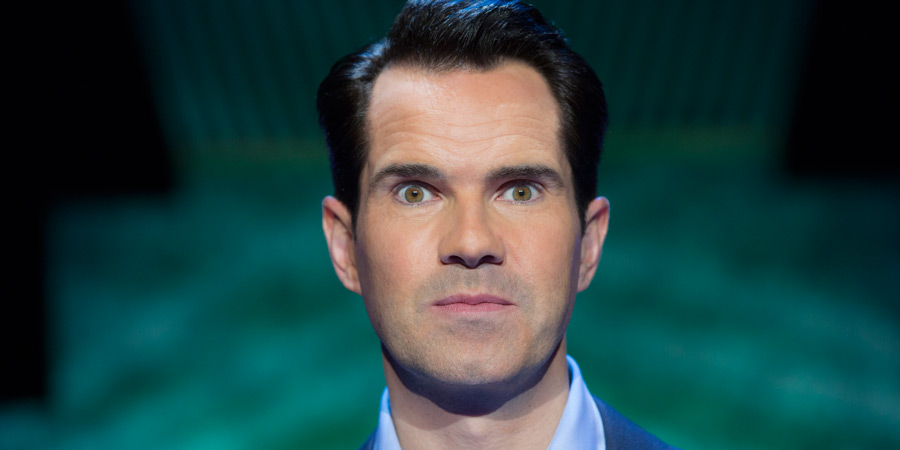 Jimmy Carr: Funny Business. Jimmy Carr. Copyright: Chambers Productions / Netflix.