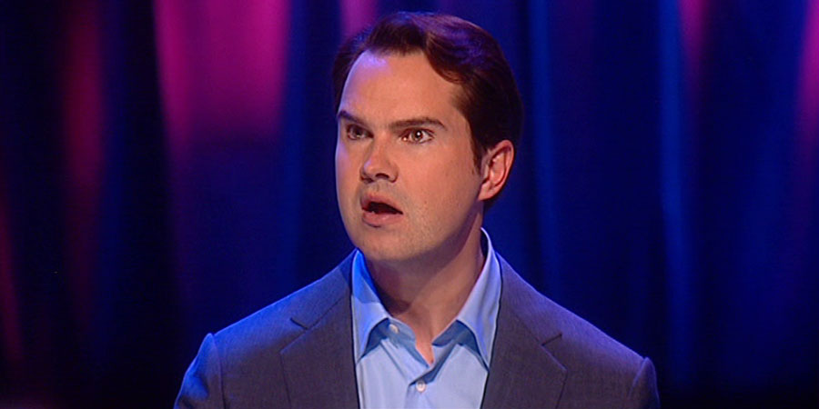 Jimmy Carr Live: Comedian. Jimmy Carr. Copyright: Bwark Productions.