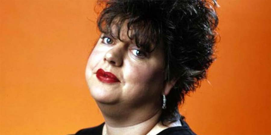 Jo Brand Through The Cakehole. Jo Brand. Copyright: Channel X.