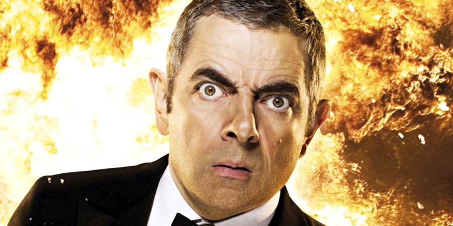 Johnny English Reborn. Johnny English (Rowan Atkinson). Copyright: Working Title Films.