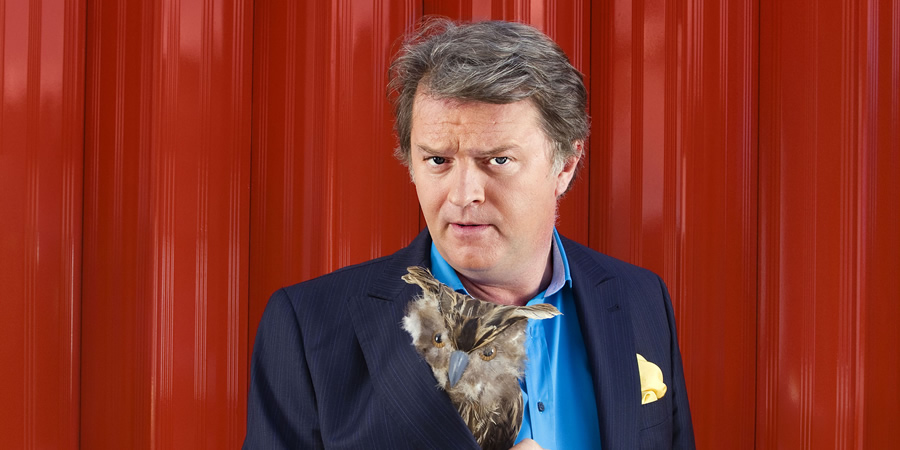 Just A Minute. Paul Merton. Copyright: BBC.