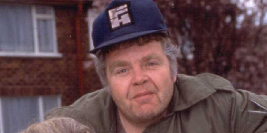 Keeping Up Appearances. Onslow (Geoffrey Hughes). Copyright: BBC.