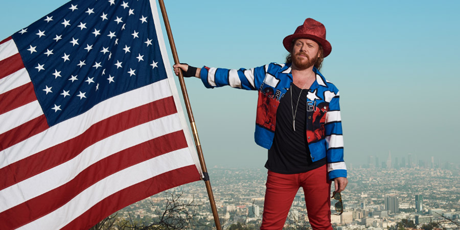 Keith Lemon: Coming In America. Leigh Francis. Copyright: Talkback.