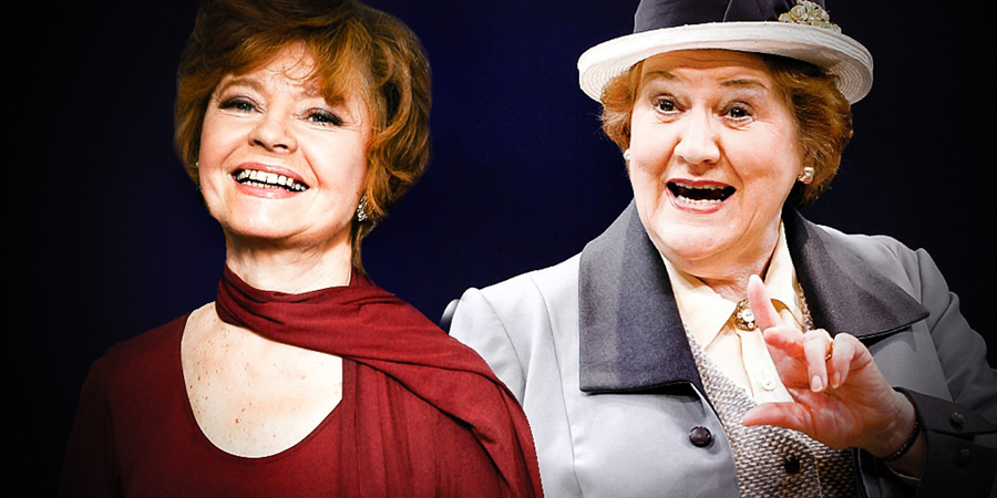 Ladies Of Letters. Image shows from L to R: Irene (Prunella Scales), Vera (Patricia Routledge). Copyright: BBC.