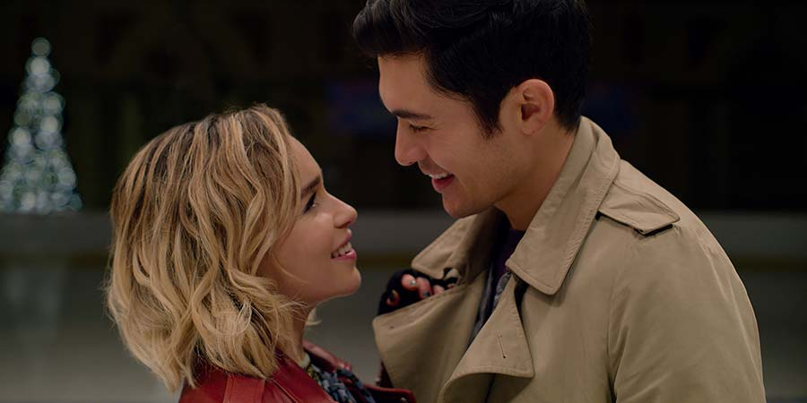 Last Christmas. Image shows from L to R: Kate (Emilia Clarke), Tom (Henry Golding). Copyright: Calamity Films.
