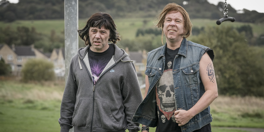 The League Of Gentlemen. Image shows from L to R: Henry (Reece Shearsmith), Ally (Steve Pemberton). Copyright: BBC.