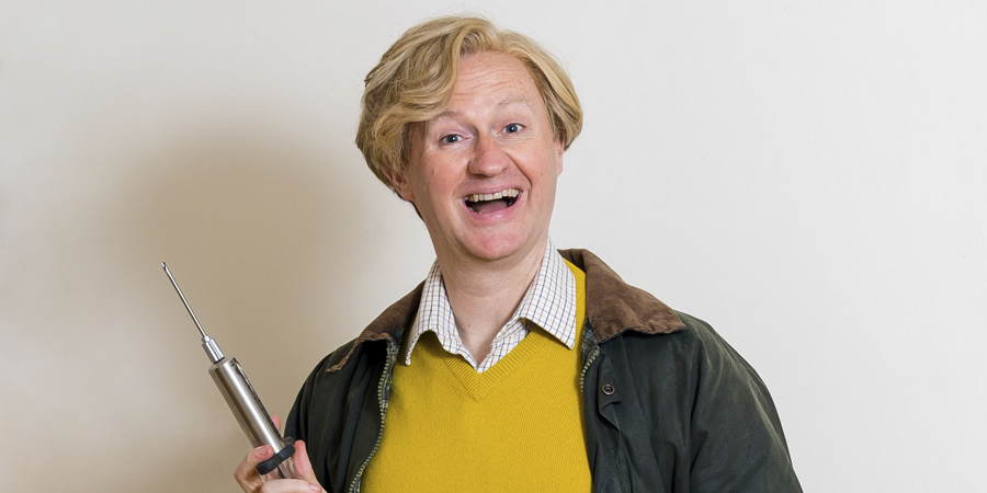The League Of Gentlemen. Dr Chinnery (Mark Gatiss). Copyright: BBC.