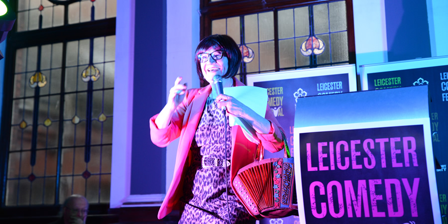 Leicester Comedy Festival Awards 2017. Janice Connolly. Copyright: Crosscut Media.