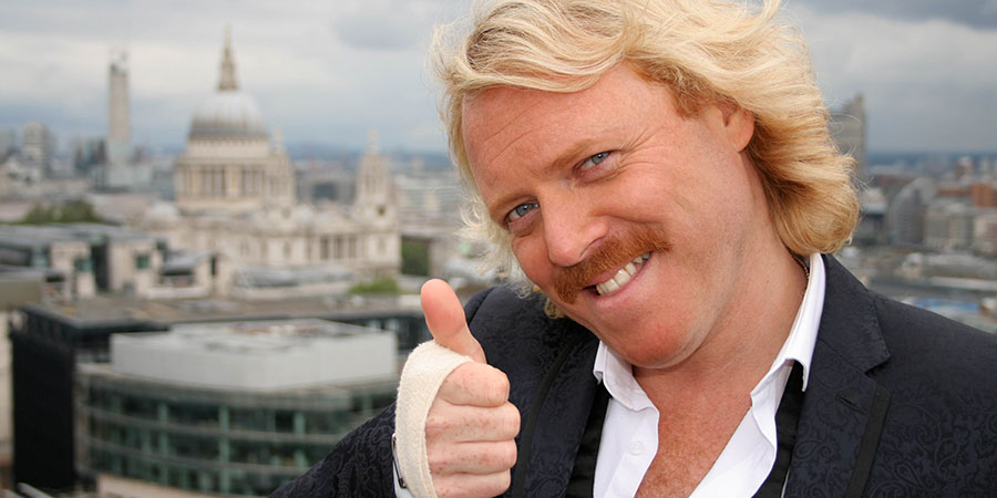 Lemon La Vida Loca. Keith Lemon (Leigh Francis).