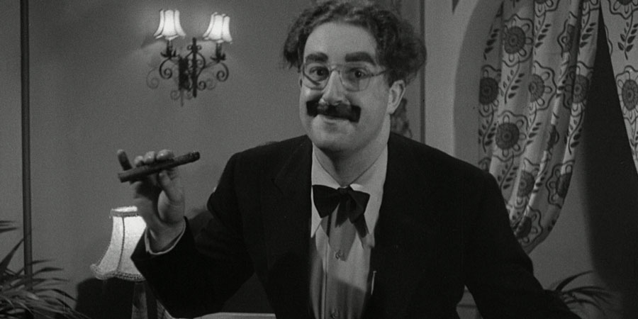 Let's Go Crazy. Groucho Marx (Peter Sellers).
