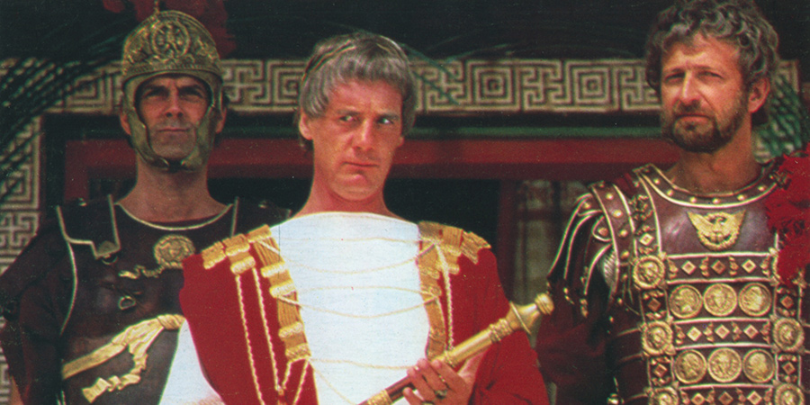 Monty Python's Life Of Brian. Image shows from L to R: John Cleese, Michael Palin, Graham Chapman. Copyright: Hand Made Films.