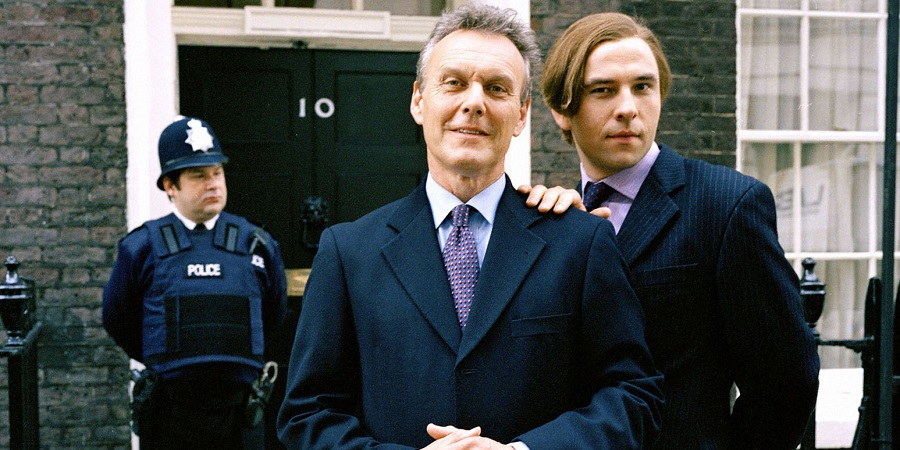 Little Britain. Image shows from L to R: Paul Putner, The Prime Minister (Anthony Head), David Walliams.