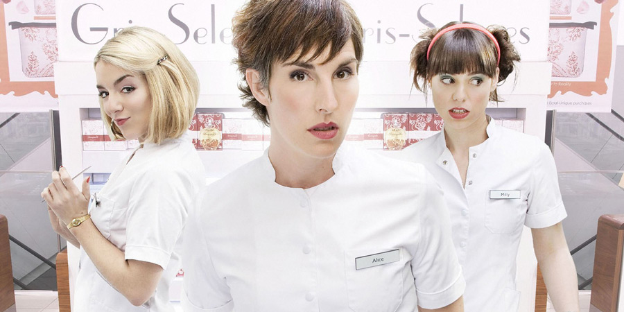 Love Soup. Image shows from L to R: Cleo Martin (Sheridan Smith), Alice Chenery (Tamsin Greig), Milly Russell (Montserrat Lombard). Copyright: BBC.