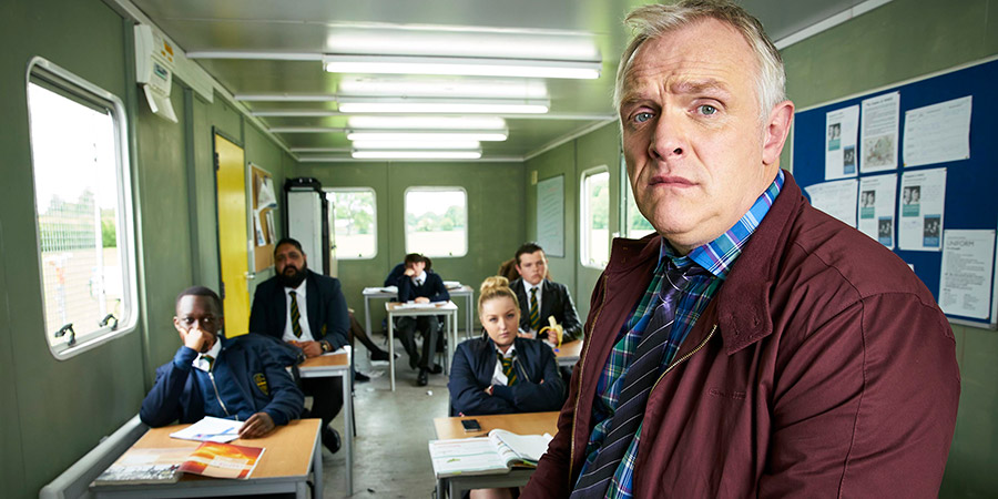 Man Down. Greg Davies. Copyright: Avalon Television.