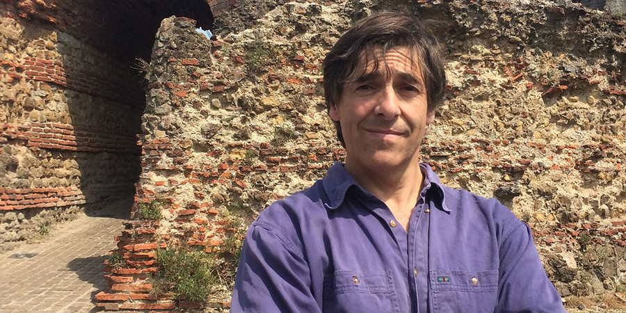 Mark Steel's In Town. Mark Steel. Copyright: BBC.