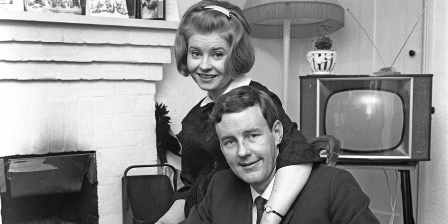 Marriage Lines. Image shows from L to R: Kate Starling (Prunella Scales), George Starling (Richard Briers). Copyright: BBC.