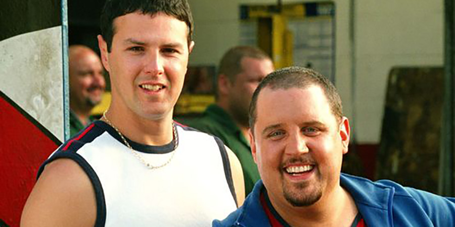 Max And Paddy's Road To Nowhere. Image shows from L to R: Paddy (Paddy McGuinness), Max (Peter Kay). Copyright: Phil McIntyre Entertainment.